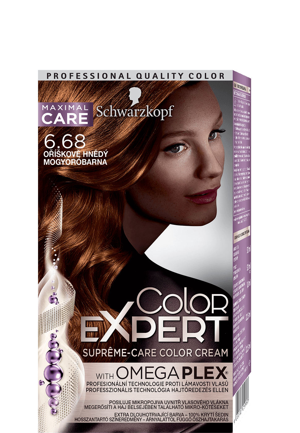Color Expert Color Creme 6-68 Hazelnut Light Brown
