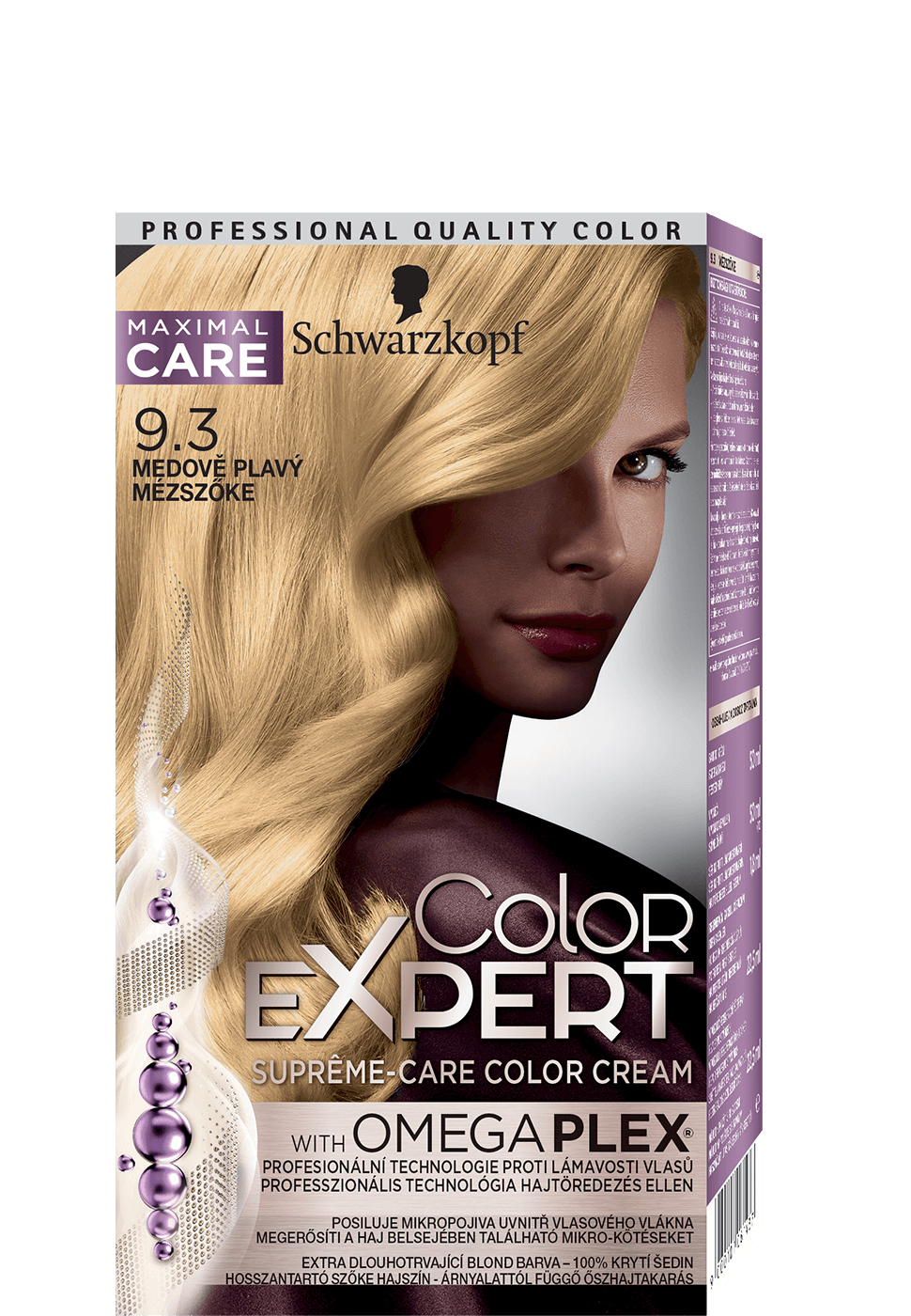Color Expert Color Creme 9-3 Golden Light Blonde