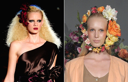 Blog Trend Puts Blossoms in Your Hair